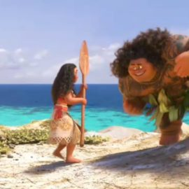 """Shot Progression: Maui's """"You're Welcome"""" Song from Disney's Moana"""