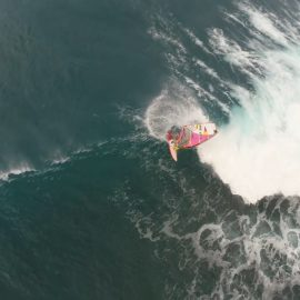 Windsurfing on Maui Hawaii with massive waves, March 2016 by Xensr