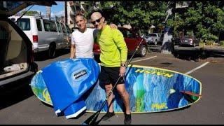 Aggressive Tiger Shark Deflates Inflatable Standup Board, Prompts Warnings on Maui